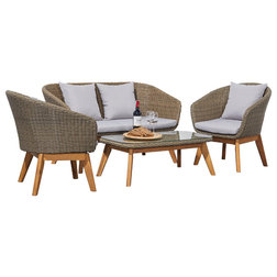 Tropical Outdoor Lounge Sets by Vifah