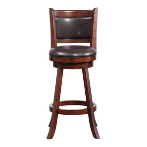 Augusta Swivel Stool 29 Quot Transitional Bar Stools And