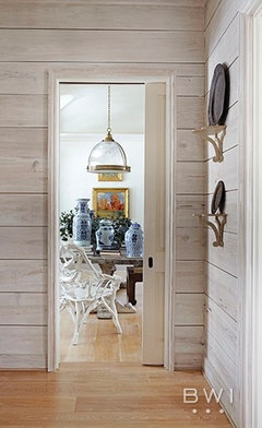 Should I Paint Or Stain Our Shiplap In Our Modern Kitchen