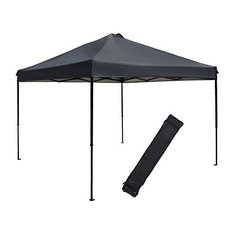 Abba Patio - 10u0027x10u0027 Outdoor Pop Up Shade Instant Folding Canopy With Roller  sc 1 st  Houzz : 10x10 canopy replacement frame - memphite.com