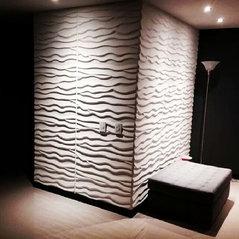 Panel 3d paneles 3d paredes 3d colombia medellin - Paneles para forrar paredes ...