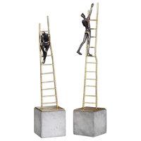 Ladder Climb Sculpture, 2-Piece Set