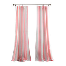 Half Moon   Wilbur Window Curtain Set, Soft Pink   Curtains