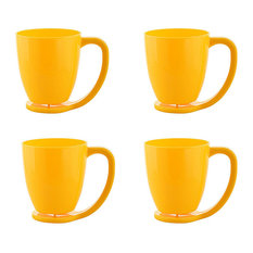- Cutting Edge Yellow Polypropylene(PP) Floating Cups - Cappuccino & Espresso Cups