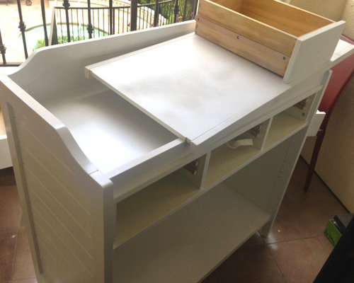 Baby Changing Table Makeover   Changing Tables