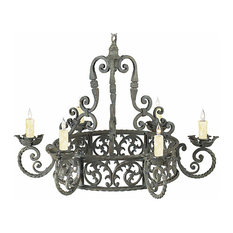 Arwen Wrought Iron Chandelier