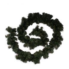 Natural Effect Green Pine Garland, 270x18 cm