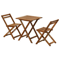 Transitional Outdoor Pub And Bistro Sets by Furinno