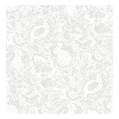 Revival Light Grey Fauna Wallpaper Bolt
