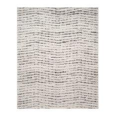 "Safavieh Adirondack Adr117B Rug, Ivory/Silver, 9'0""x12'0"""