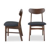 Gramercy Mid-Century Modern Dining Chair, Set of 2