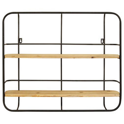 Industrial Display And Wall Shelves  by GwG Outlet