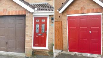 Garage Doors - Before & After