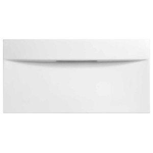 "27"" Imprint Rectangular Above Counter Ceramic Vessel Sink, White"