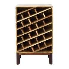 Gwg Outlet Wooden Wine Rack 24 X40