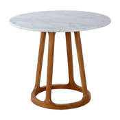 Kruhy : Round marble table