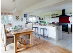 Views On Changing Floor Types In Kitchen Diner See Pics Houzz Uk