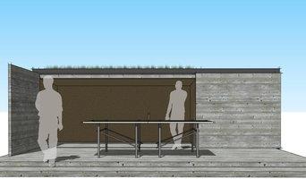 Modern Rustic Backyard Shed + Playhouse