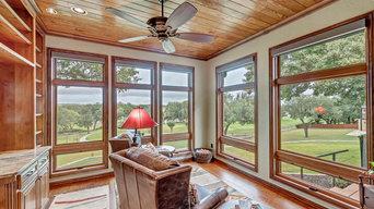 Master suite, sunroom & covered back deck