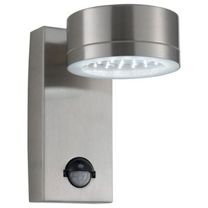 Outdoor LED Modern Security Wall Light With PIR Motion Sensor