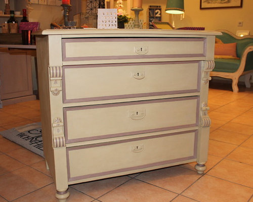 Kommode mit Kreidefarbe - Accent Chests And Cabinets