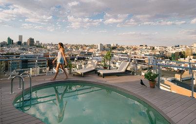 Pequeños placeres: 9 terrazas con piscina para relajarse