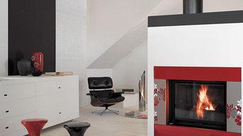 Lava Stone Fireplaces