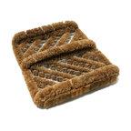 Herringbone Coir Boot Scraper Brush