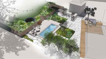 Landscape Visualisations (design option A and B)