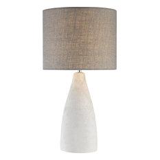 Rockport 1 Light Table Lamp, Polished Concrete