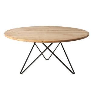 Jabo Furniture Paris Coffee Table, Natural Oak, Large