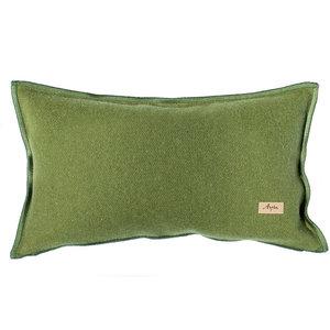 Savoie Rectangular Cushion, Bracken Green