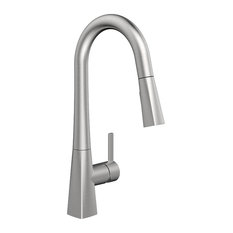 Belanger EVO78CSS Single Handle Pull-Down Kitchen Faucet, Stainless Steel