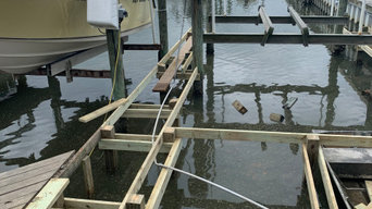 Full Boat Dock Renovation- Stage One (Bay Shore Marina)