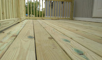 All Wood Deck