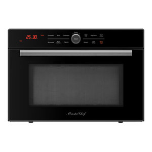 Master Chef 4 Ovens In 1 High Sd Convection Microwave Countertop Black