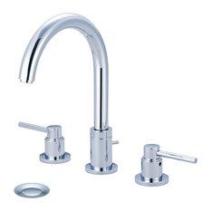 Motegi Two Handle Widespread Bathroom Faucet, Polished Chrome