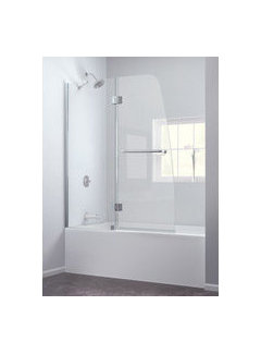 Tub And Shower Curtain Or Sliding Glass Door?