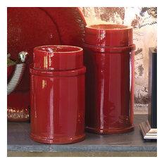 Global Views 3.31056 Zinger Ceramic Jar Large