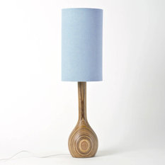 - Hand Turned Table Lamp - Table Lamps