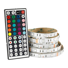 OVE Decors 32.8' Indoor RGB LED Tape Strip With Remote