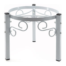 """Goldwell Designs 7.5"""" Metal Counter Stand, White"""