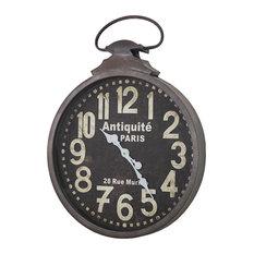 Antiquite De Paris 29 Rue Murillo Wall Clock