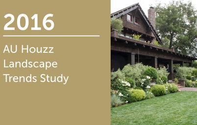 2016 AU Houzz Landscape Trends Study