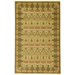 Unique Loom - Unique Loom Carnation Edinburgh Area Rug, Brown, 5'x8' - The classic look of the Edinburgh Collection is sure to lend a dignified atmosphere to your home. With an array of colors and patterns to choose from, there�s a rug to suit almost any taste in this collection. This Edinburgh rug will tie your home�s decor together with class and amazing style.
