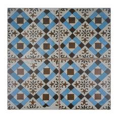 """17.75""""x17.75"""" Royals Ceramic Floor/Wall Tiles, Millbasin"""