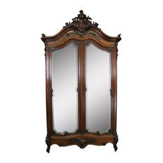 Consigned Armoire Antique French Louis XVI Tall  1880