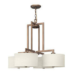 Hinkley Hampton Foyer Medium Single Tier, Brushed Bronze
