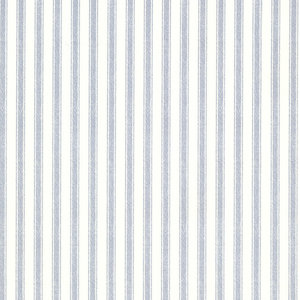 Longitude Pinstripes Wallpaper, Blue