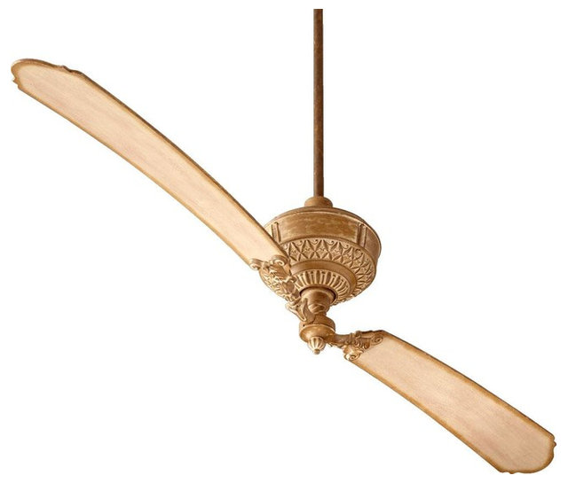 French Umber Ceiling Fan